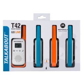 Motorola Walkie Talkie T42 - Quad Pack