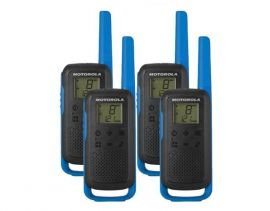 Motorola Walkie Talkie TLKR T62 Radio Quad Pack