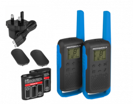 Motorola Walkie Talkie TLKR T62 Radio Twin Pack