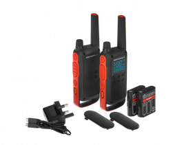 Motorola Walkie Talkie T82 - Twin Pack