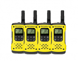 Motorola T92  Waterproof Walkie Talkie Two Way Radio H20 -  Quad Pack