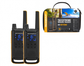 Motorola Walkie Talkie T82 Extreme - Twin Pack