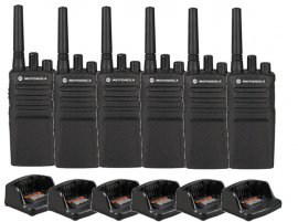 Motorola XT420 Walkie Talkie Single Charger - Six Pack